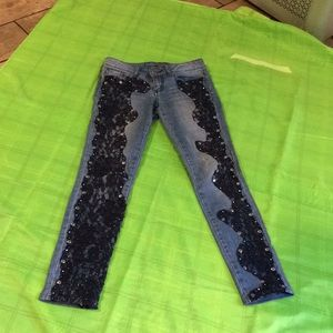 Bebe jeans size 25 inseam 28